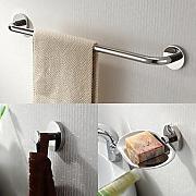 handtuchhalter de badezimmer zubehoerset g nstig online. Black Bedroom Furniture Sets. Home Design Ideas