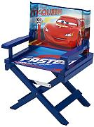 Produktbild: Delta Children TC85975CR Regiestuhl Cars, Holz, rot, Single, 35.55 x 28.90 x 53.35 cm