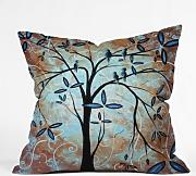 Produktbild: DENY Designs Madart Scenes From A Dream Throw Pillow, 16-Inch by 16-Inch by DENY Designs