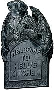 Produktbild: Design Toscano CL4737 Welcome to Hell's Kitchen modellierte Wandtafel mit Drache