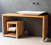 Waschtischunterschrank holz stehend  Waschtische Aus Holz günstig online kaufen | LIONSHOME