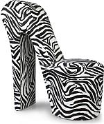 High heel sessel g nstig online kaufen lionshome for Stuhl zebra design