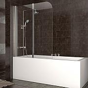 Glas Duschwand Fr Badewanne : Duschabtrennung Badewanne Duschwand Badewannenfaltwand Glas Dusche DIN ...