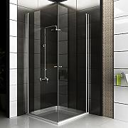 Duschabtrennung faltbar  Duschwand Klappbar günstig online kaufen | LIONSHOME