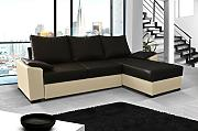 Ecksofa Lusso Eckcouch Sofa Couch mit Bettfunktion 01550
