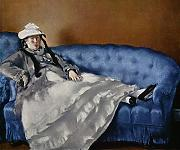 Edouard Manet - On the Sofa - Large - Matte Print