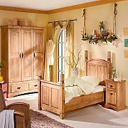 Schlafzimmer landhausstil kiefer  Landhausbetten günstig online kaufen | LIONSHOME