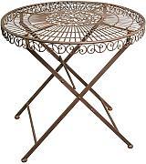gartentisch metall klappbar g nstig online kaufen lionshome. Black Bedroom Furniture Sets. Home Design Ideas