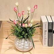 weisse tulpen günstig online kaufen   lionshome, Esszimmer dekoo
