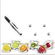 Eurographics MB-DT6205 Delicate Fruits Memoboard Glas 30 x 30 x 2 cm, bunt