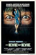 Eye For An Eye Poster 03 Canvas A2 large 42x60cm Box Canvas Print 16x24 inch