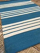 Teppich blau weiß gestreift  SECOND NATURE Teppiche günstig online kaufen | LIONSHOME