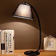holz tischleuchte schreibtischlampe g nstig online kaufen. Black Bedroom Furniture Sets. Home Design Ideas
