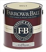 Farrow & Ball Estate Emulsion 2,5 Liter - BONE No. 15