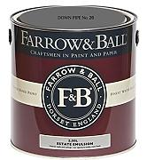 Farrow & Ball Estate Emulsion 2,5 Liter - DOWN PIPE No. 26
