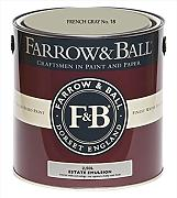 Farrow & Ball Estate Emulsion 2,5 Liter - French Gray No. 18
