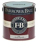Farrow & Ball Estate Emulsion 2,5 Liter - LULWORTH BLUE No. 89