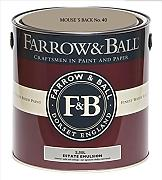 Farrow & Ball Estate Emulsion 2,5 Liter - MOUSE´S BACK No. 40