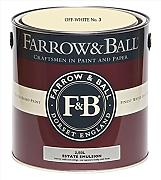 Farrow & Ball Estate Emulsion 2,5 Liter - OFF-WHITE No. 3