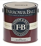 Farrow & Ball Estate Emulsion 2,5 Liter - PAVILION GRAY No. 242