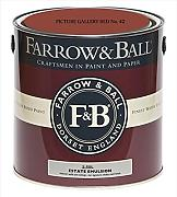 Farrow & Ball Estate Emulsion 2,5 Liter - PICTURE GALLERY RED No. 42