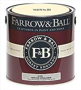 Farrow & Ball Estate Emulsion 2,5 Liter - TALLOW No. 203