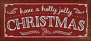 Feeling-at-home-Kunstdruck-Holly-Jolly-Christmas-cm40x91-Poster-fuer-Rahmen