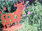 Gartendeko ferrum g nstig online kaufen lionshome for Rostfiguren tiere