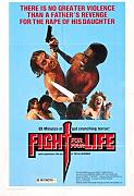 Fight For Your Life Poster 01 Canvas A2 large 42x60cm Box Canvas Print 16x24 inch