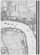 Fine Art Print – Roque Map of London 1748 by Porter Design, 17 x 24