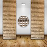 fl chenvorhang muster g nstig online kaufen lionshome. Black Bedroom Furniture Sets. Home Design Ideas