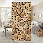 fl chenvorhang holz g nstig online kaufen lionshome. Black Bedroom Furniture Sets. Home Design Ideas