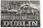 Foil Style Magnet With Dublin Montage Design