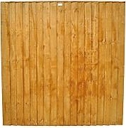 Forest ff66pk4hd 183 x 4,7 x 183 cm featheredge Panel (1.83 m hoch) – Pack von 4 – Herbst Gold (4-)