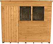 Forest odp75hd 7 x 5 FT Gartenhaus Pultdach Garden Shed – Autumn Gold