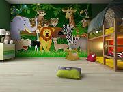 fototapete kinderzimmer posterdepot g nstig online kaufen lionshome. Black Bedroom Furniture Sets. Home Design Ideas