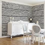 Produktbild fototapete steintapete marble stonewall - Steintapete hell ...