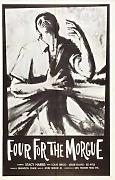 Four For Morgue Poster 01 Canvas A2 large 42x60cm Box Canvas Print 16x24 inch