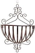 FPF Blumentreppe European Iron Wall Hanging Flower Pot Rack Wall Hanging Blume Rack Indoor Balkon Pflanze Regale Kreative Blumenregale ( Farbe : B-1 )