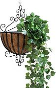 FPF Blumentreppe European Iron Wall Hanging Flower Pot Rack Wall Hanging Blume Rack Indoor Balkon Pflanze Regale Kreative Blumenregale ( Farbe : A-3 )