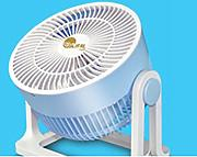 FSB Desktop Mini Luft Konvektion Kreis Fan Turbine Elektrische Fan Student Dorm Raum Ventilator Fortune Fan ( Farbe : #1 )
