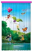 Gardine/Vorhang FCC L 4103 Kinderzimmer Disney Fairies