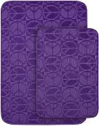 badteppiche badteppich lila g nstig online kaufen lionshome. Black Bedroom Furniture Sets. Home Design Ideas