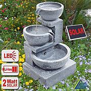 gartenbrunnen mit solar g nstig online kaufen lionshome. Black Bedroom Furniture Sets. Home Design Ideas
