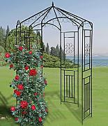 gartenpavillon schwarz g nstig online kaufen lionshome. Black Bedroom Furniture Sets. Home Design Ideas