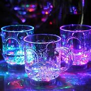 Generic Induktive Colorful LED Wein Whisky Cup Glas Bar Party Getränk Cup Nachtlicht
