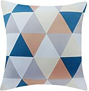 Geometric Sofa Pillow Cushion,Office Car Pillow-A 45x45cm(18x18inch)VersionA