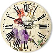 Goonss Fashion Decorative Wall Clock For Bedroom Decor Home Decoration More Quiet Home Watch With Roman Number Wall Decor Gift,Style 1,12Inch 30Cm