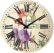 Goonss Fashion Decorative Wall Clock For Bedroom Decor Home Decoration More Quiet Home Watch With Roman Number Wall Decor Gift,Style 2,12Inch 30Cm
