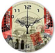 Goonss Style Decorative Wall Clock For Living Room Warranty 3 Years Fashion Home Decor Silent Wall Clock Watch Gift,Style 2,14Inch 35Cm